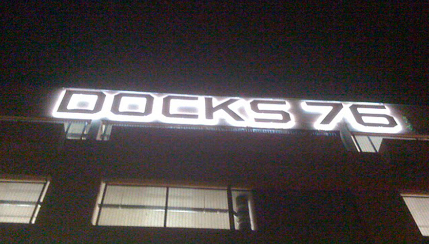 Lettres boitier 3D rétroéclairées LED blanc